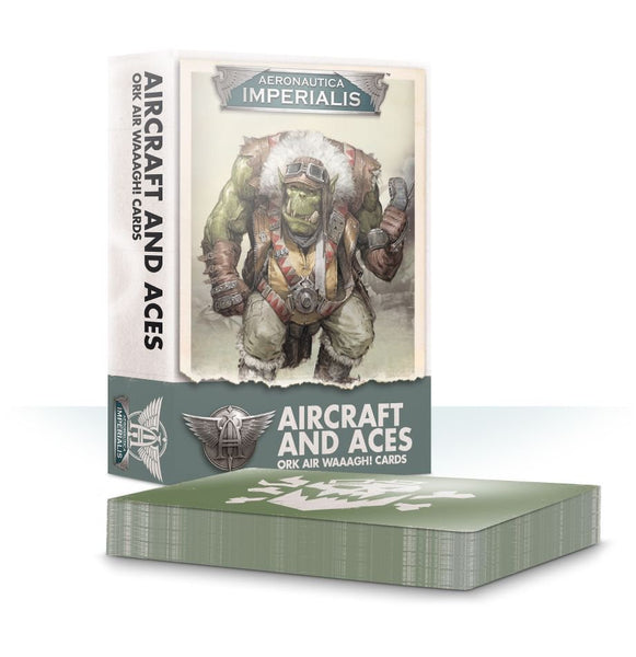 Aeronautica Imperialis Aircrft & Aces: Ork Air Waaagh! Crds