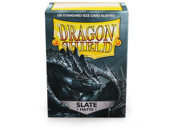 Dragon Shields: (100) Matte Slate