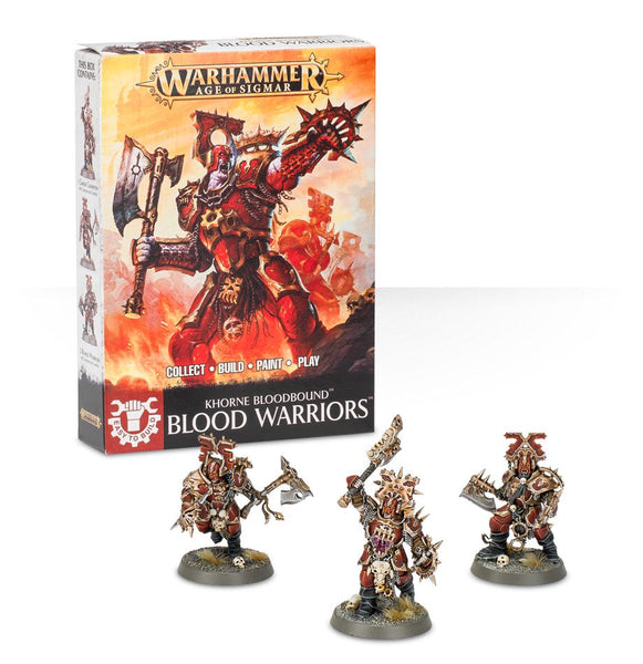 Easy to Build Khorne Bloodbound Blood Warriors