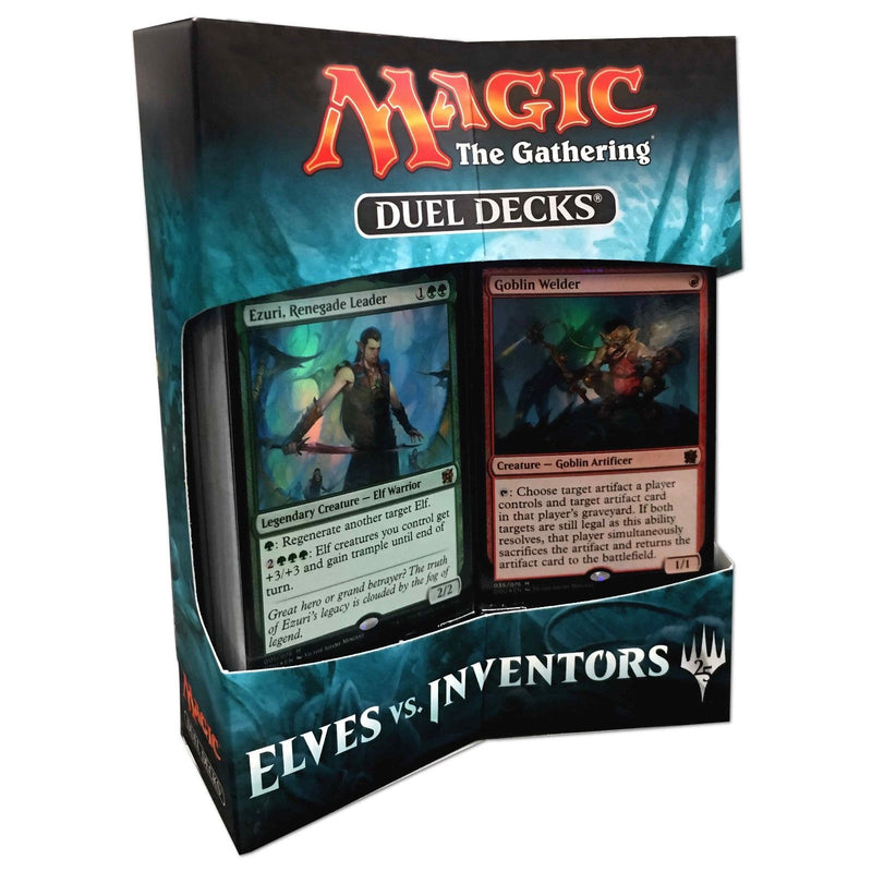 Magic the Gathering Elves vs Inventors Duel Decks *Factory Sealed*