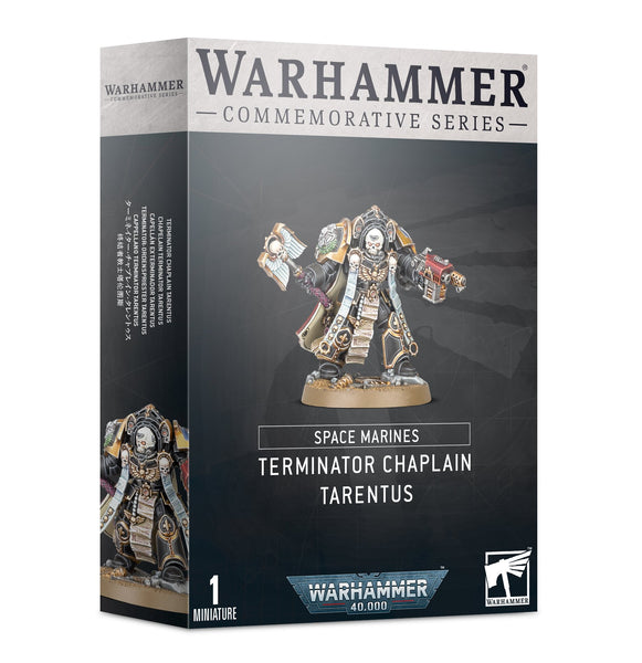 Space Marines Terminator Chaplain Tarentus