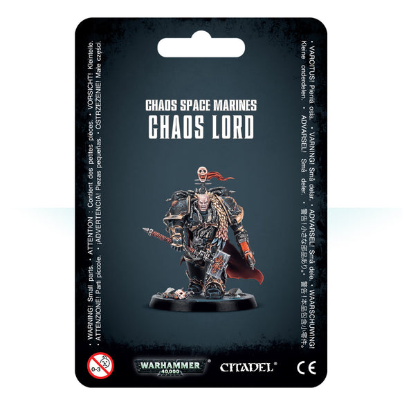 Chaos Space Marines Chaos Lord (B/s F)