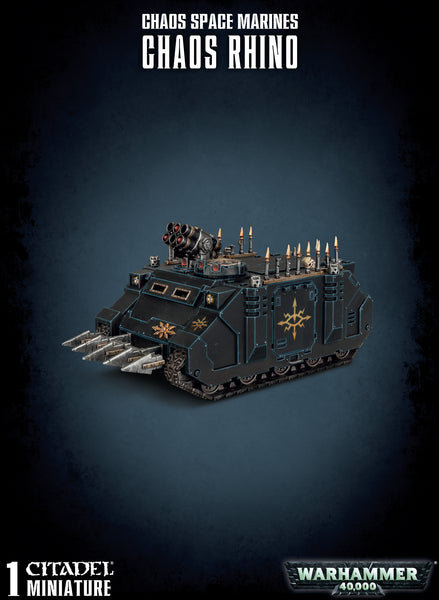 Chaos Space Marines Rhino