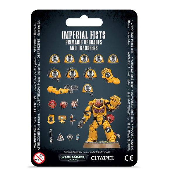 Imperial Fists Primaris Upgrades & Trnfs