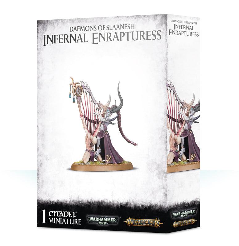 Daemons Of Slaanesh:infernal Enrapturess