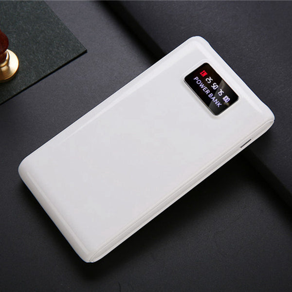 Bakeey 6*18650 Dual USB Ports LED Display 15000mAh Battery Case Power Bank Box With LED Flashlight