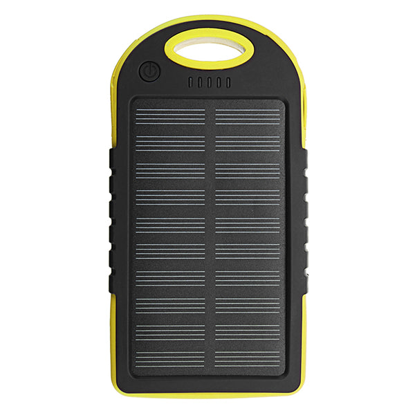 Bakeey 5000mAh Dual USB Solar Energy Camping Flashlight Battery Case Power Bank Box