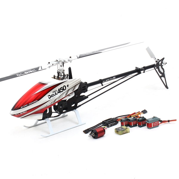 ALZRC Devil 450 Pro V2 SDC DFC RC Helicopter Super Combo