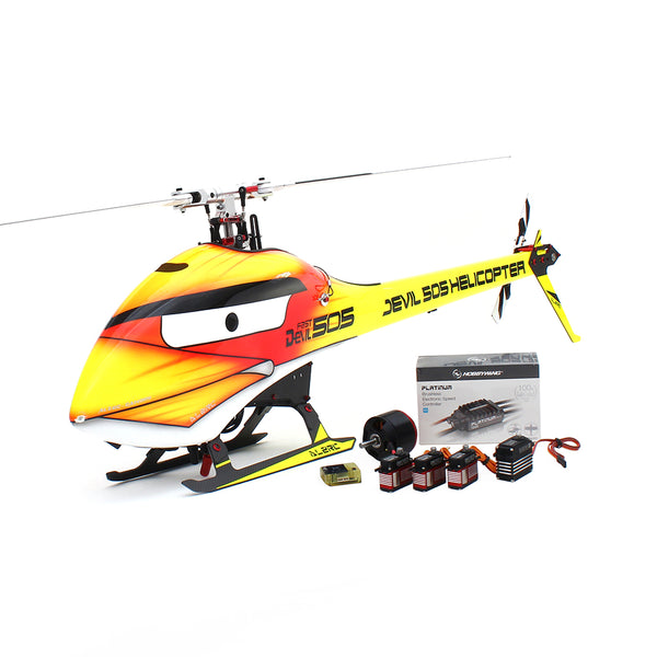 ALZRC Devil 505 FAST Bird Version RC Helicopter Super Combo