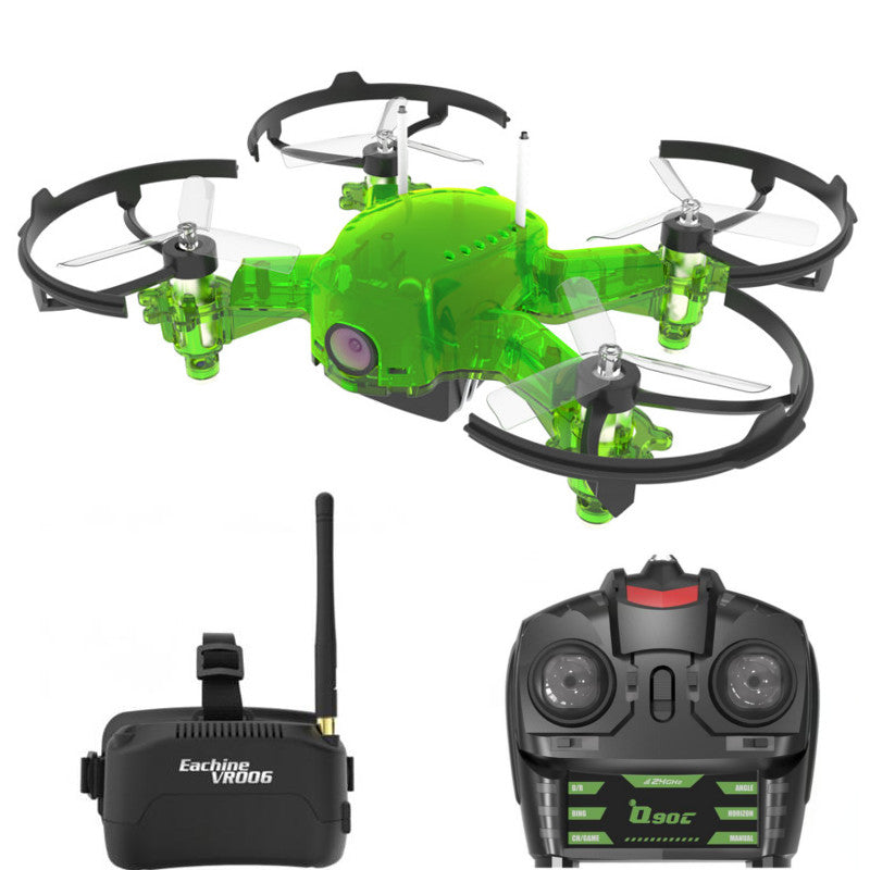 Eachine Q90C Flyingfrog FPV RC Racing Drone Quadcopter 1000TVL Camera VR006 Goggles Switch Freq Transmitter