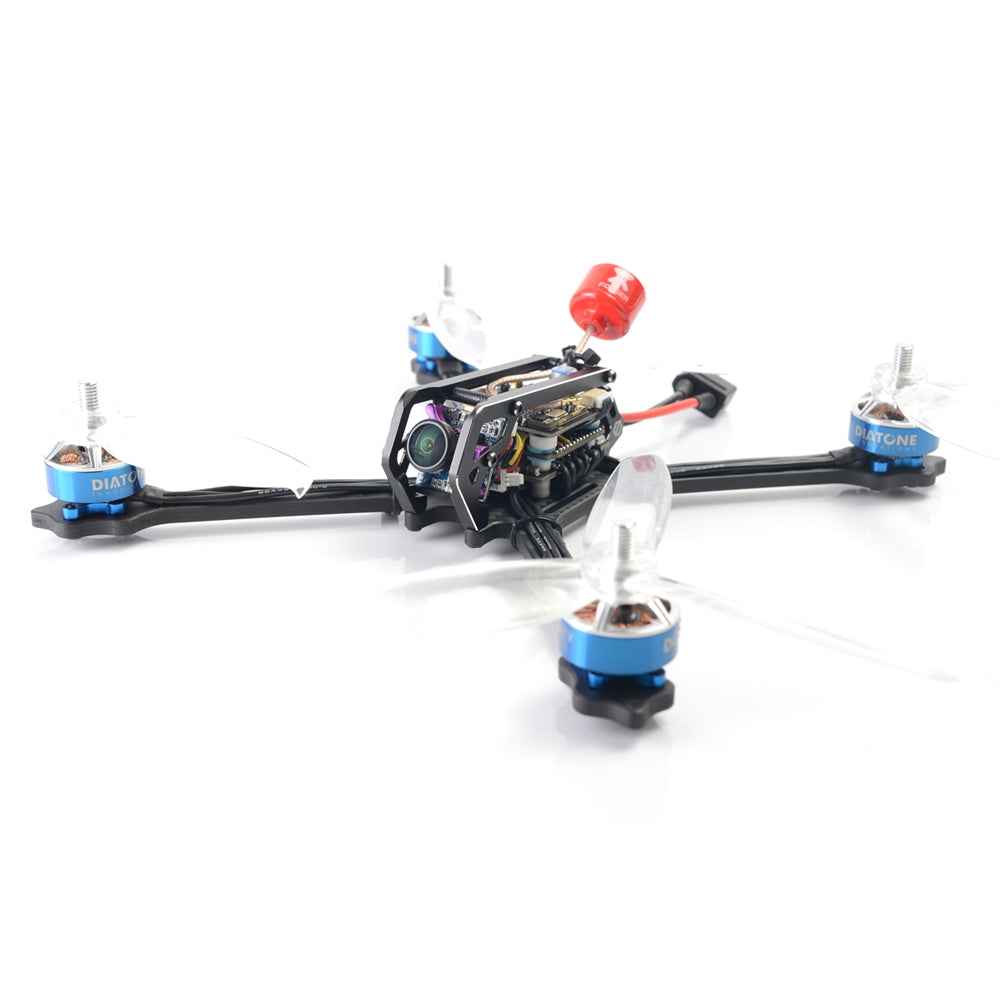 Diatone GT M515 FPV Racing RC Drone PNP Integrated Type F4 8K OSD Runcam Micro Sparrow 2 TBS 800mW
