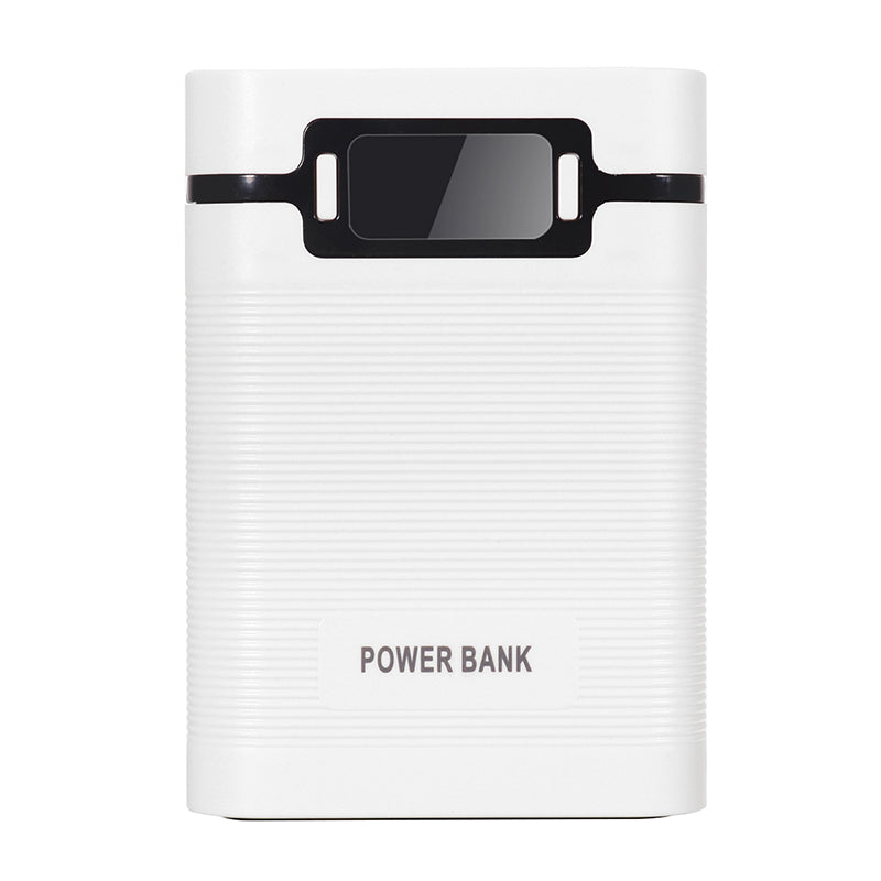 DIY Portable 10000mAh Power Bank With OLED Display For Samsung S8 iphoneX 8/8Plus Xiaomi mi5 mi6