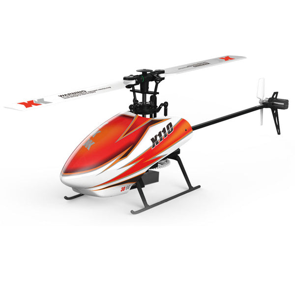 XK K110 Blast 6CH Brushless 3D6G System RC Helicopter BNF