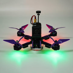 Eachine Wizard X220S FPV Racer RC Drone Omnibus F4 5.8G 72CH 30A Dshot600 2206 2300KV 800TVL CCD ARF