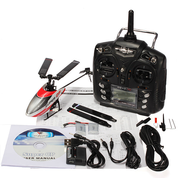 Walkera Super CP 6CH 3D Helicopter With DEVO 7E