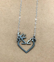 Deer Heart Necklace