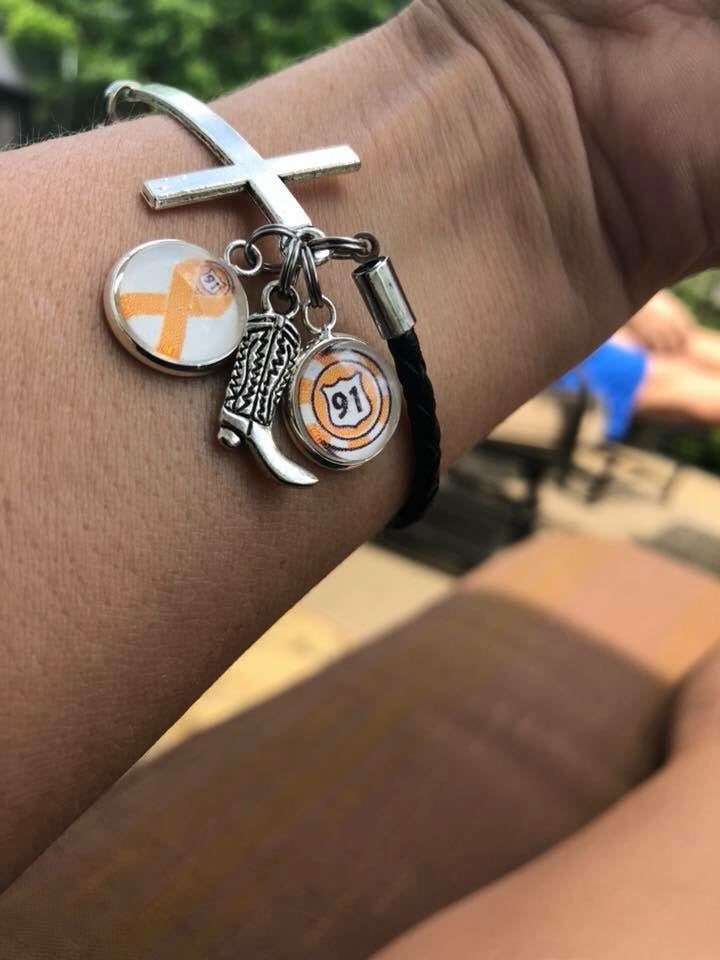 Route 91 Cross Bracelet #2