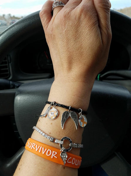 Route 91 Leather Bracelet #2