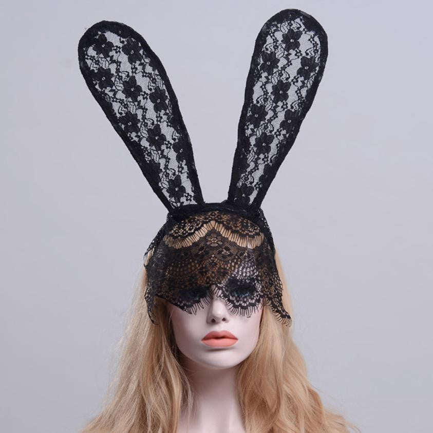 Funeral Lace Rabbit Ears