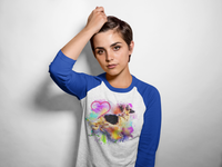 Ladies' GSD Love 3/4 Raglan Tee - K9 & Company
