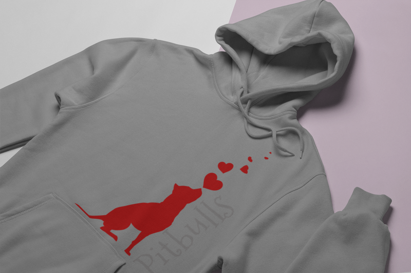 Unisex Pit Bull Love Hoodie - K9 & Company