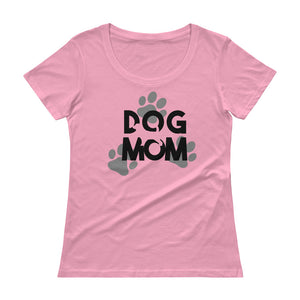 Ladies' Dog Mom Scoopneck T-Shirt