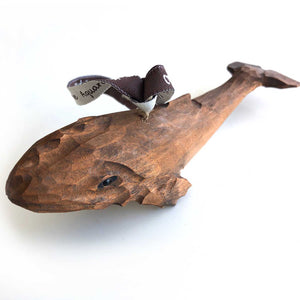 Hand Carved Blue Whale