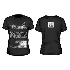 The Art and Architecture of Cabrillo Marine Aquarium T Shirt (Black)