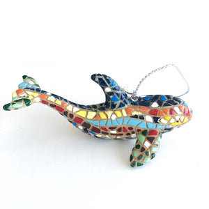 Multicolor Dolphin by Barcino