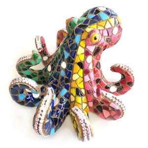 Multicolor Octopus by Barcino