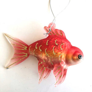 Coral Tropical Fish Ornament