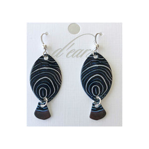 Emperor Angelfish Earrings