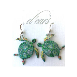 Coral Bay Honu Earrings