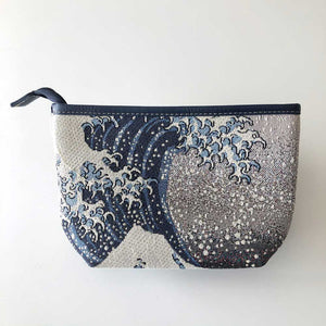 Giant Wave Makeup Bag