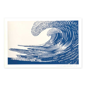 John Van Hamersveld: The Wave Limited Edition print