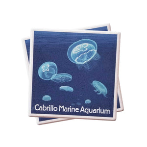 Moon Jellies Coaster