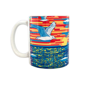John Van Hamersveld: The Art and Architecture of Cabrillo Marine Aquarium Mural 1 Coffee Mug