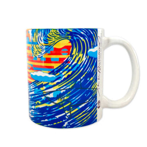 John Van Hamersveld: The Art and Architecture of Cabrillo Marine Aquarium Coffee Mug/Mural