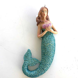 Glitter Tail Mermaid Ornament