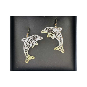 ISARA Dolphin Earrings