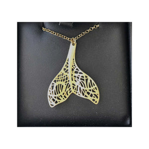 ISARA Whale Tail Necklace