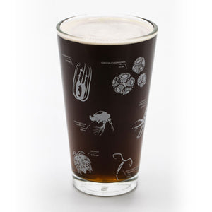 Plankton Beer Glass