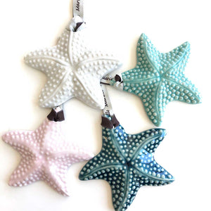 Porcelain Starfish Keepsake