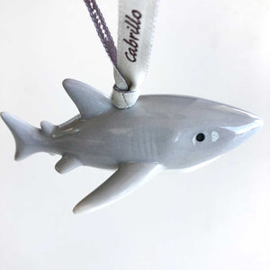 Porcelain Shark Keepsake
