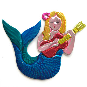 La Sirena Sings Ornament