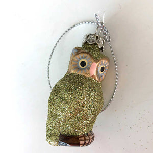 Tiny Tiny Owl Ornament