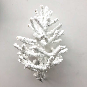 "Sparkly White Coral ""Tree"""