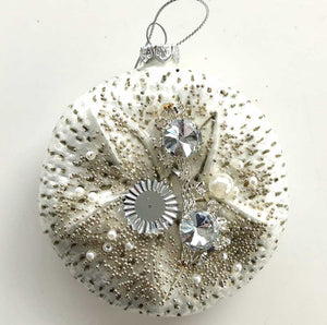 White Sand Dollar Ornament