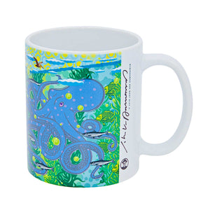 John Van Hamersveld: The Art and Architecture of Cabrillo Marine Aquarium Mural 3 Coffee Mug