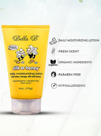 Silk & Honey Moisturizing Lotion